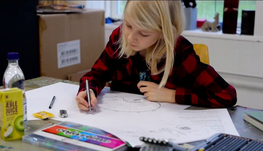 Can a drawing change the world? #drawwithdenmark   News   Braga Media Arts