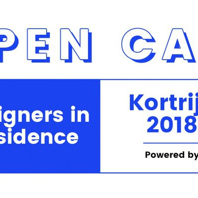 Kortrijk 2018: Call for Designers in Residence