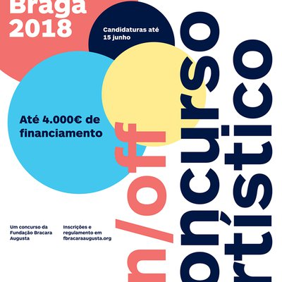 Artistic Competition Noite Branca 2018: on / off