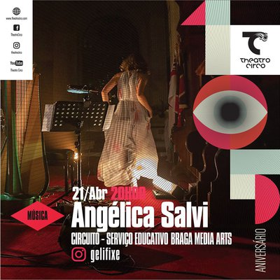 Angélica Salvi performs online to celebrate Theatro Circo´s anniversary