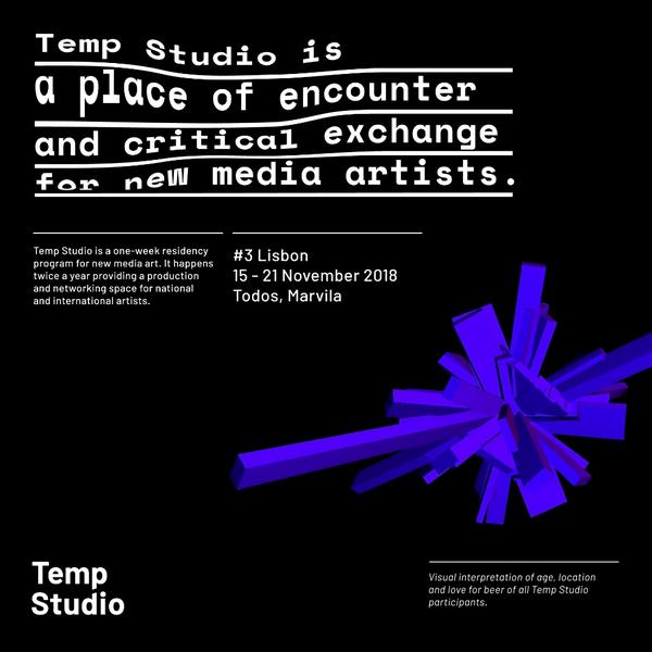 Open Call: Temp Studio #3 | Open Calls | News | Braga Media Arts
